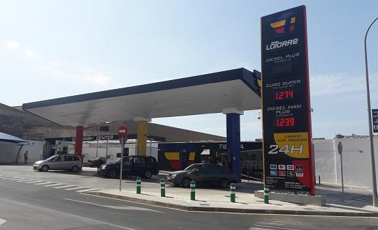 Rotulaciones de gasolineras